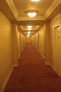 the creepy corridor