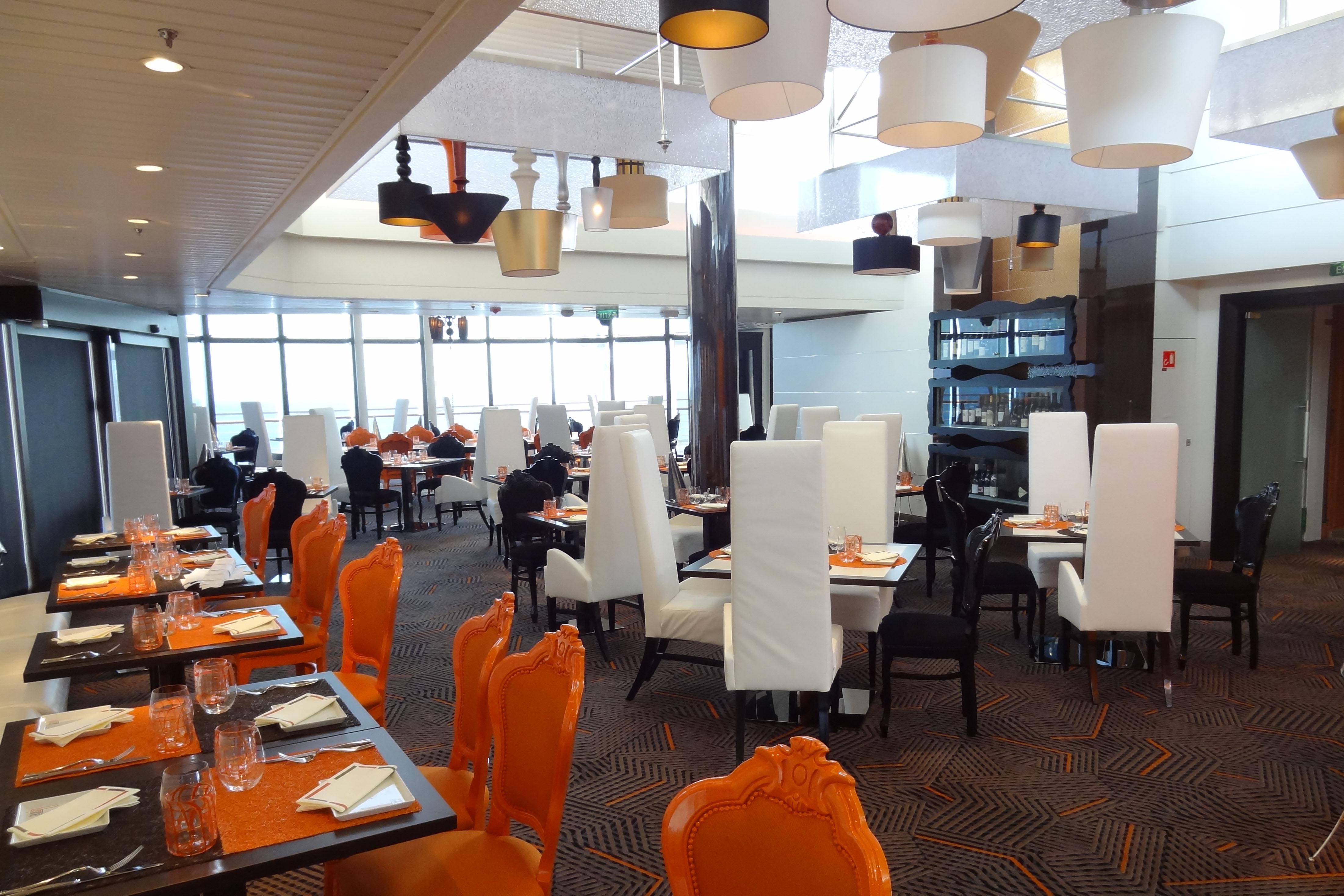 Celebrity Summit - Qsine Restaurant – Cruise Ship ...