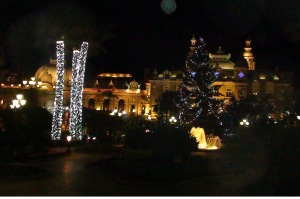 Casino Square, Monte Carlo on New Year's Eve.