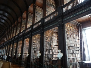 The extraordinary library at Trinity College