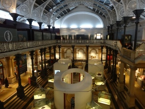 The museum of Ireland's architecture is worth the visit in itself!