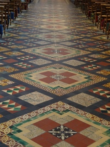 The amazing floor of St. Pat's