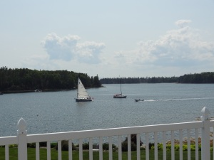 The view from where we're spending summer this year!