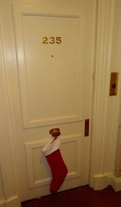 Marriott elves helped Santa Claus last year!