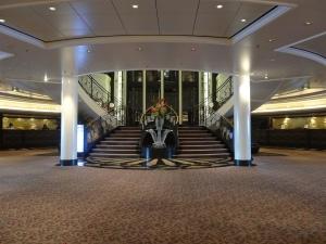 Marina's elegant foyer