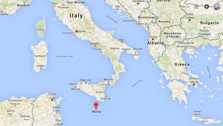 malta - map