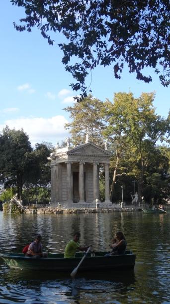 Rome - Borghese gardens