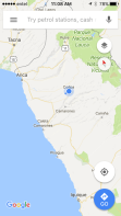 arica map