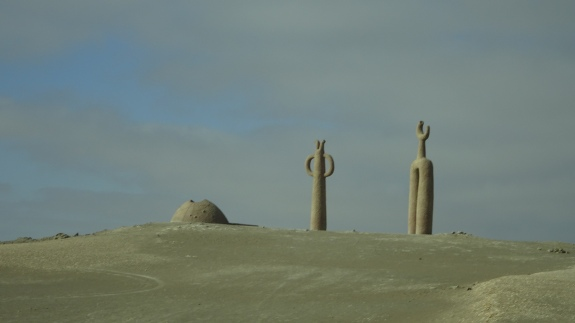 atacama desert sculptures