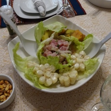 The finished ceviche