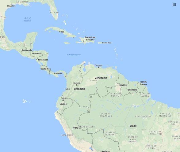 Lima locator map